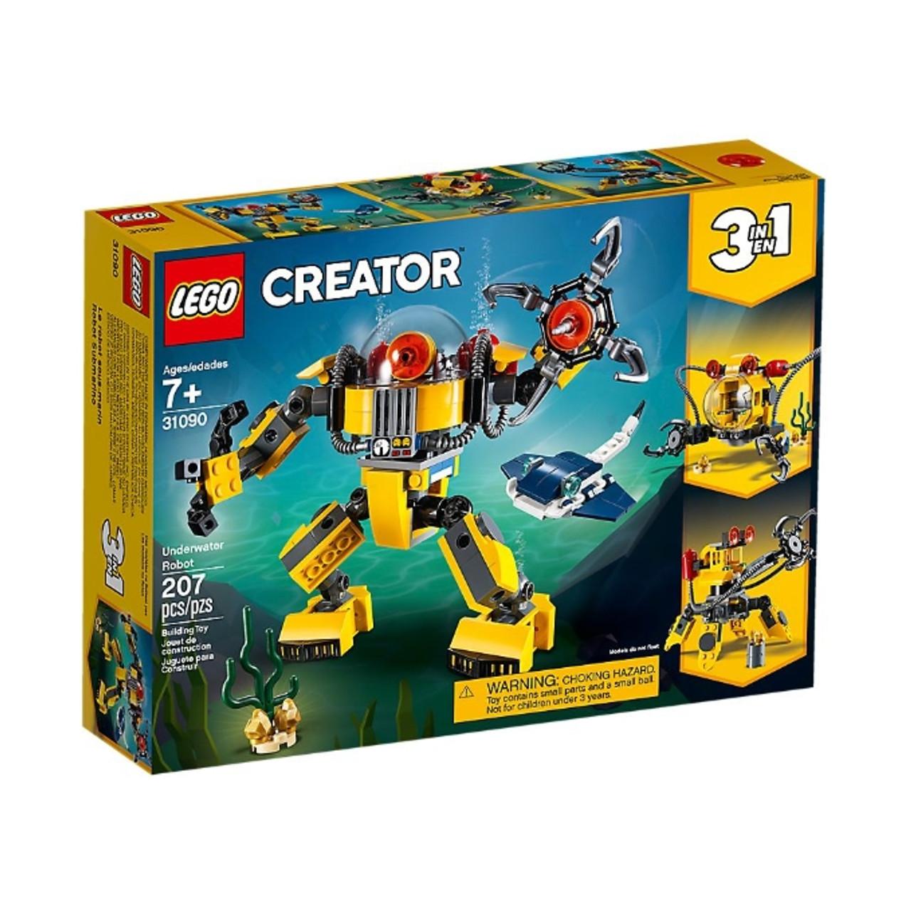 LEGO 31090 Creator Underwater Robot
