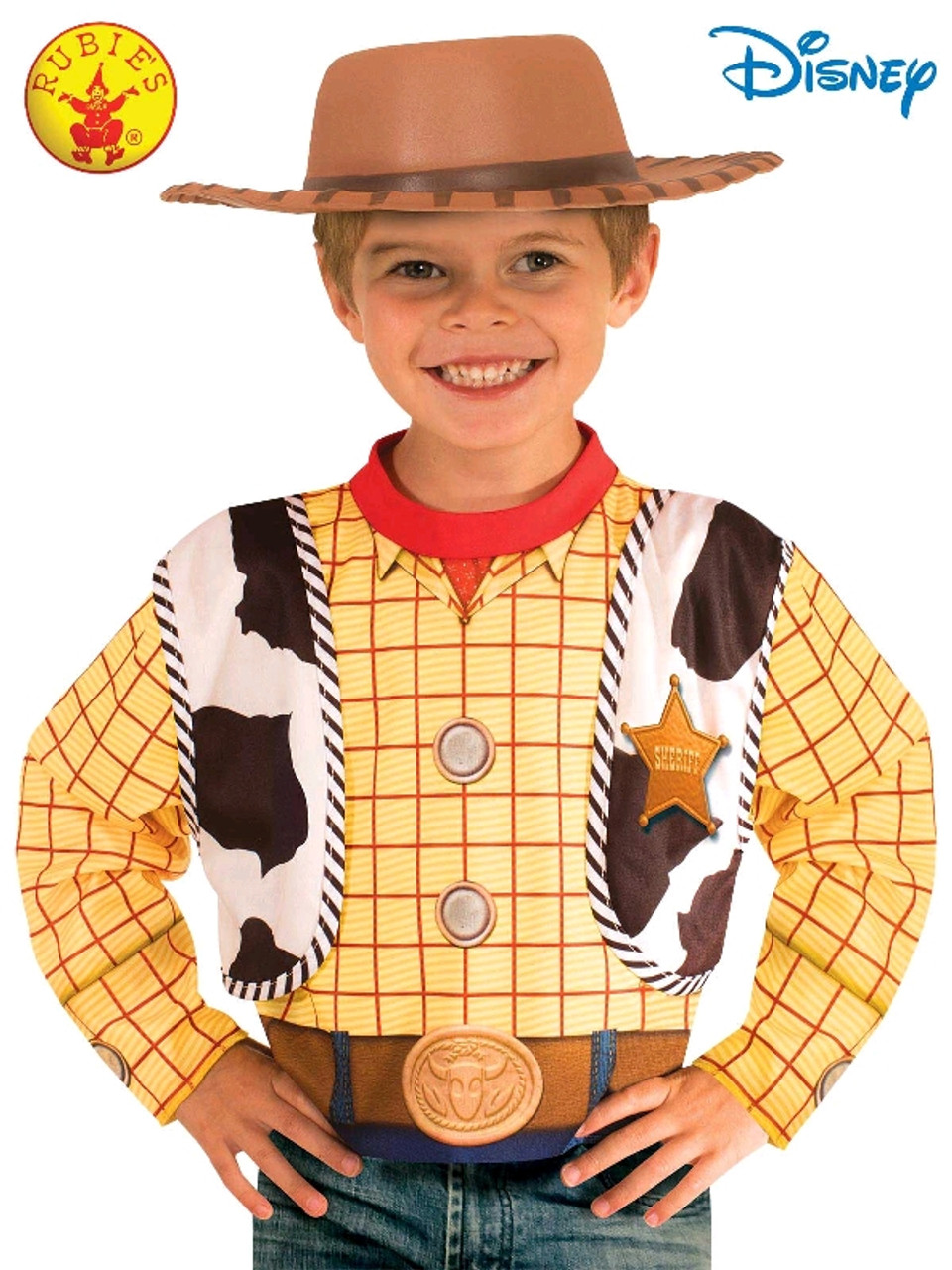 Woody Toy Story 4 Costume Top