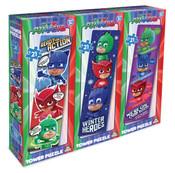 3 Pack Tower Puzzle Boys (Cars X 2, Pj Masks X 2, Paw Patrol X 2)