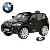 Bmw X5 Black 6V Ride On With Parent Remote