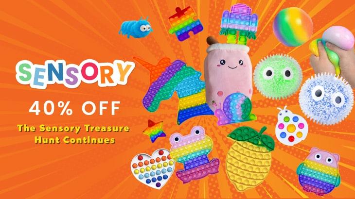 40% Off Sensory Toys