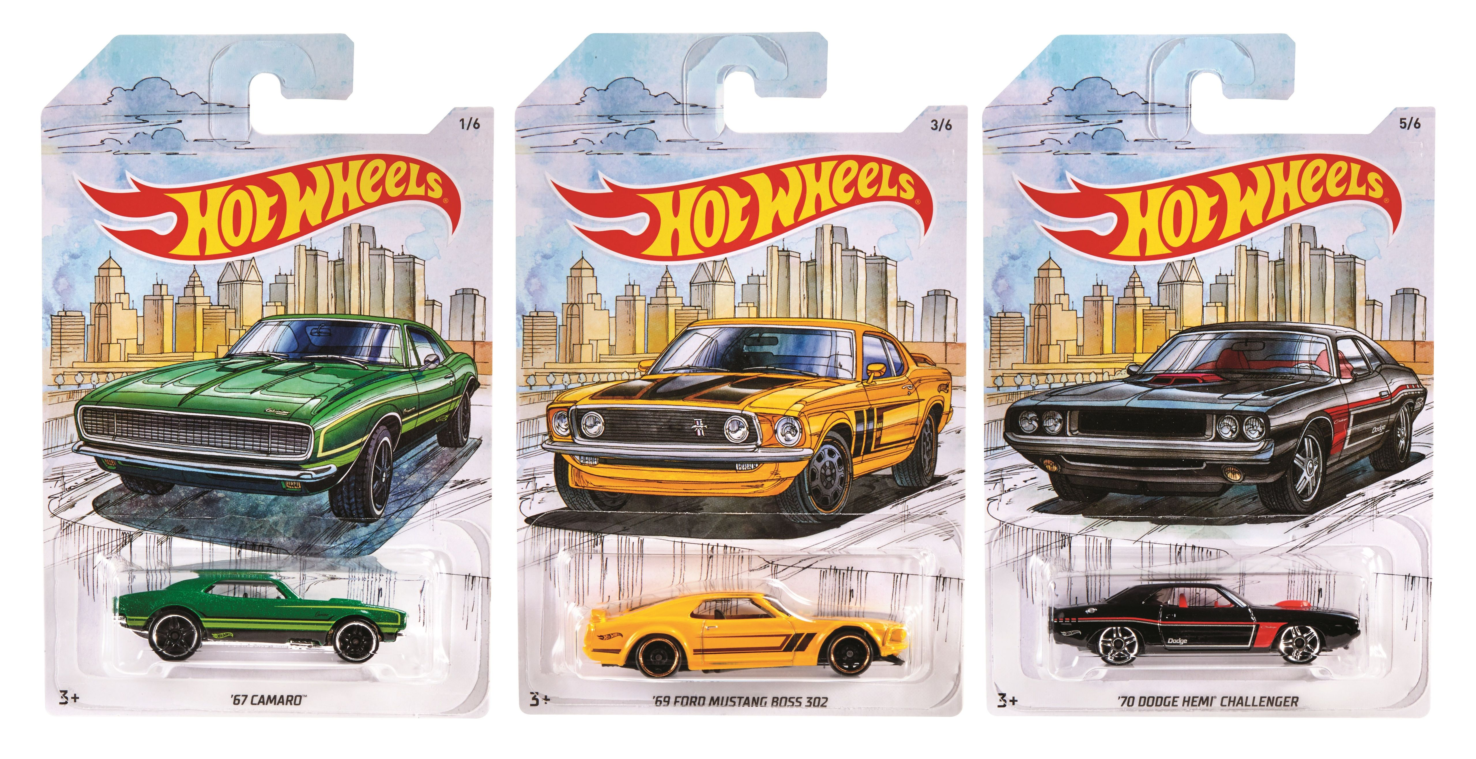 Hot Wheels Themed Automotive Assortment Gdg44