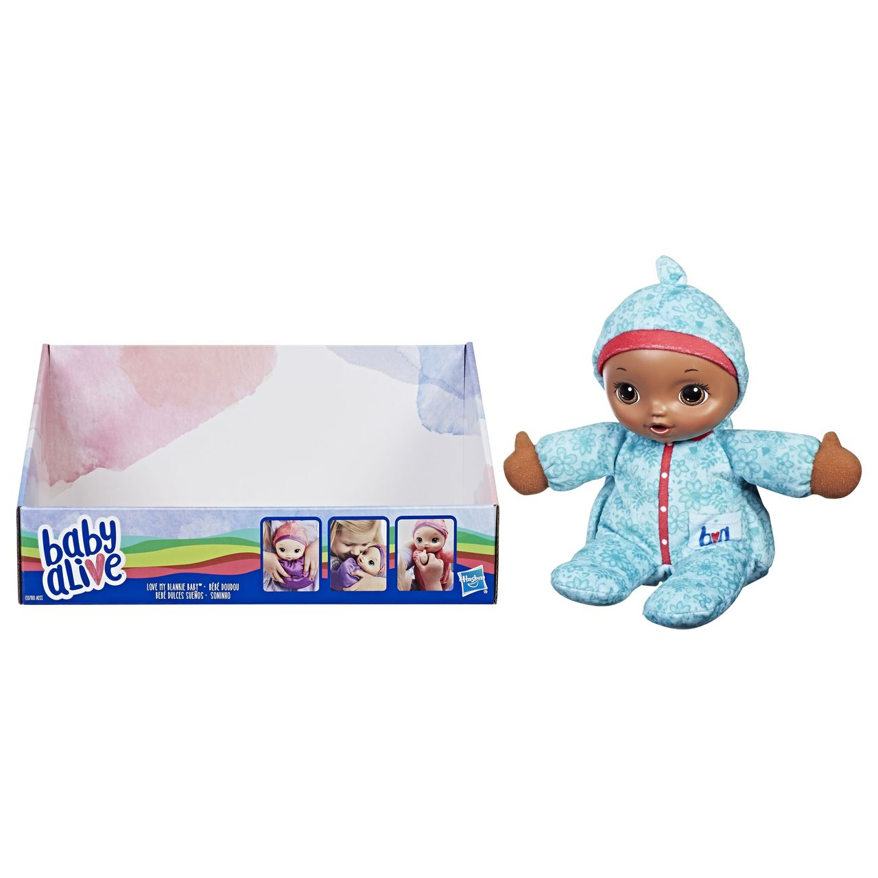 effce94467 Baby Alive Soft Doll Assorted (Swaddle Me Baby) - Toymate