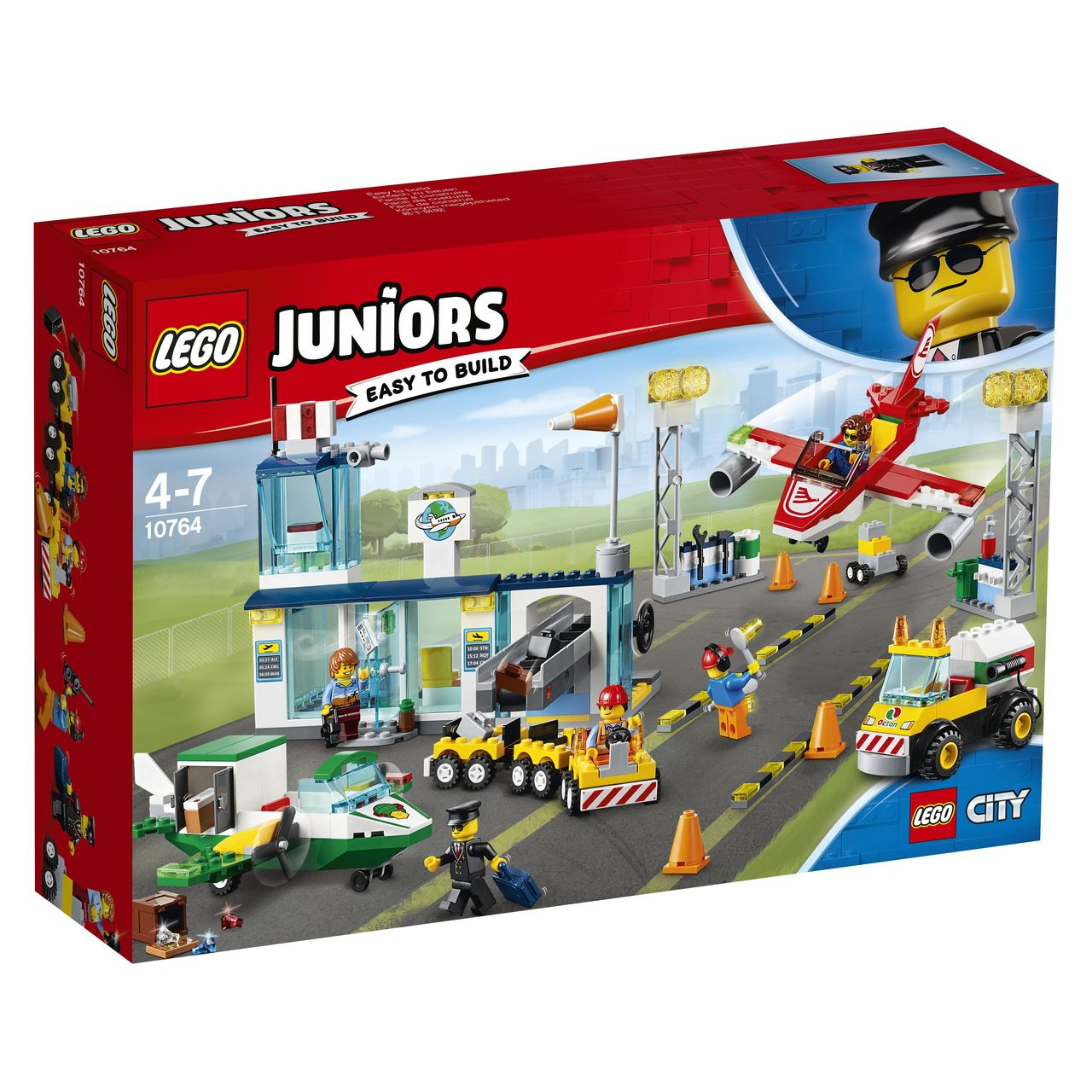 395b3a9b101 LEGO Junior City Central Airport 10764 | 10764 | Toymate 4+