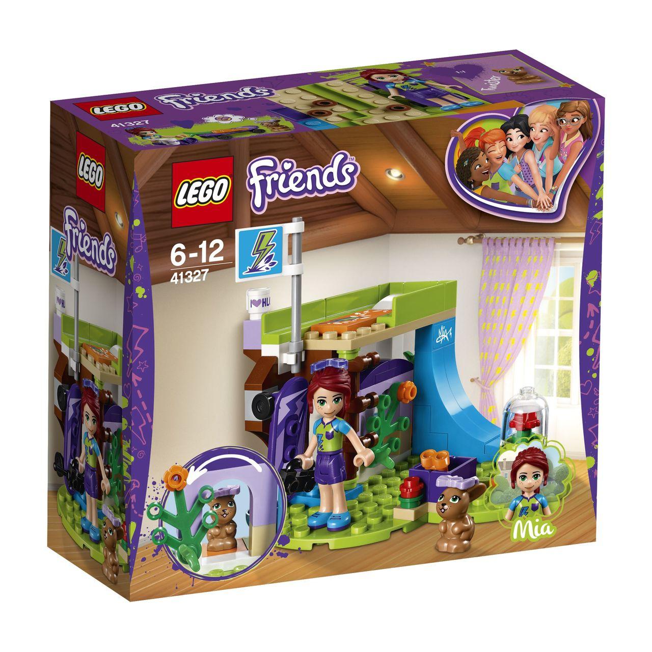 Lego Friends Mias Bedroom 41327 Toymate