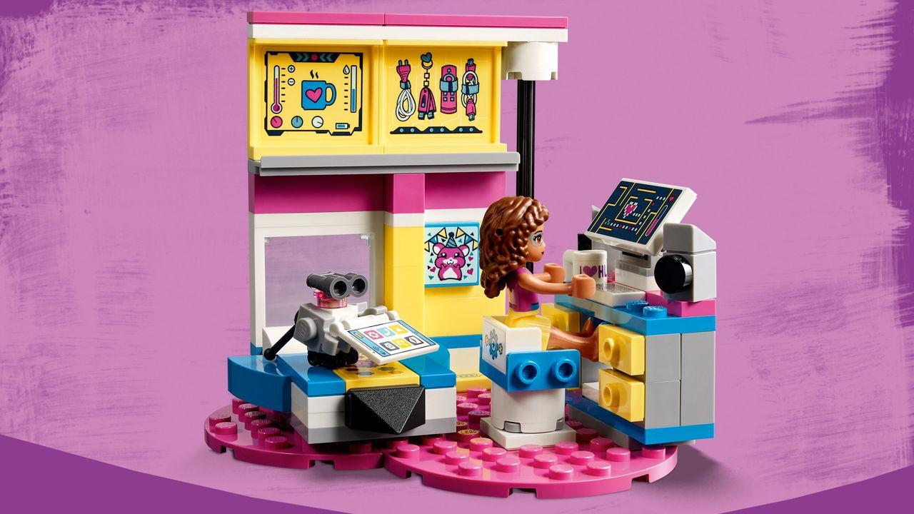 Lego Friends Olivias Deluxe Bedroom 41329 Toymate