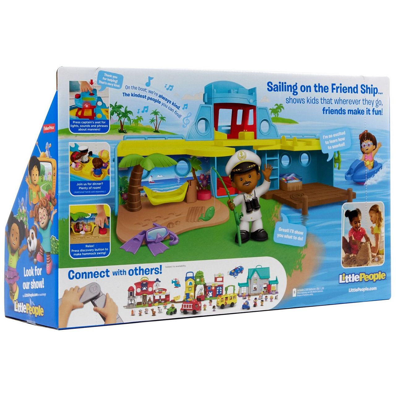 1a45fb9c31d4e Little People Travel Together Friend Ship - Toymate
