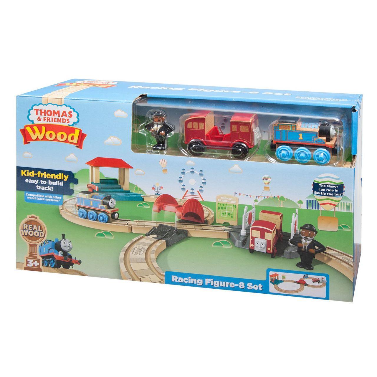 Thomas Friends Wooden Railway Racing Figure8 Set