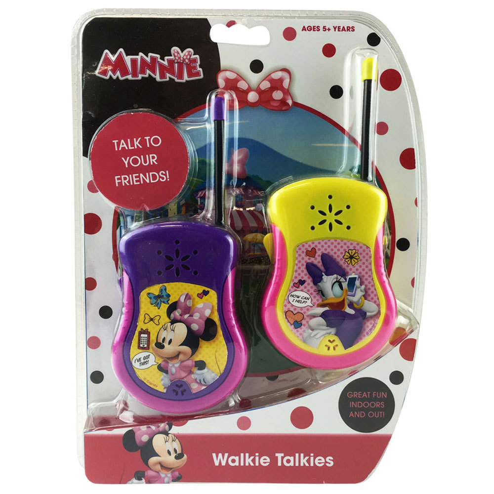 Minnie Mouse Bowtique Walkie Talkie