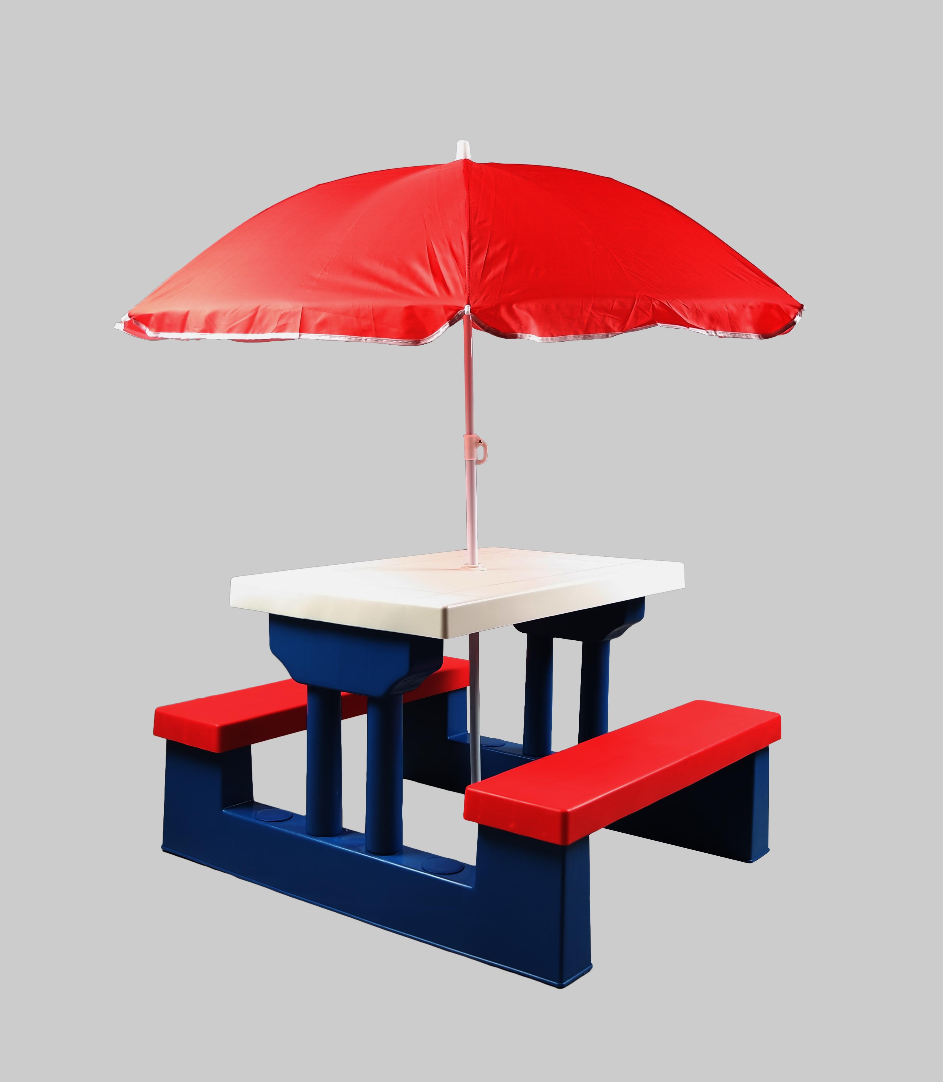 Super Plastic Picnic Table With Umbrella Download Free Architecture Designs Oxytwazosbritishbridgeorg