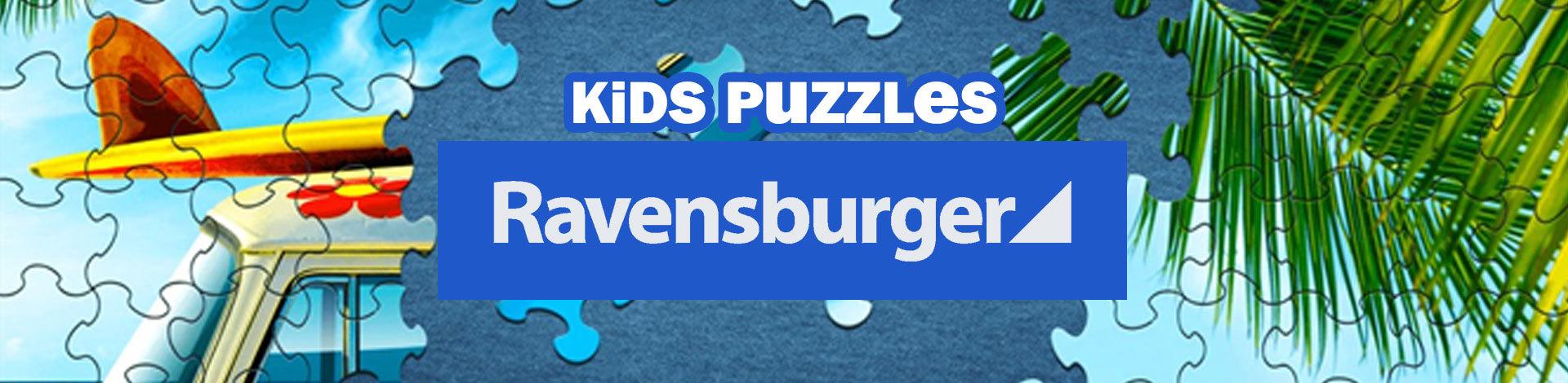 Kids Ravensburger Puzzles