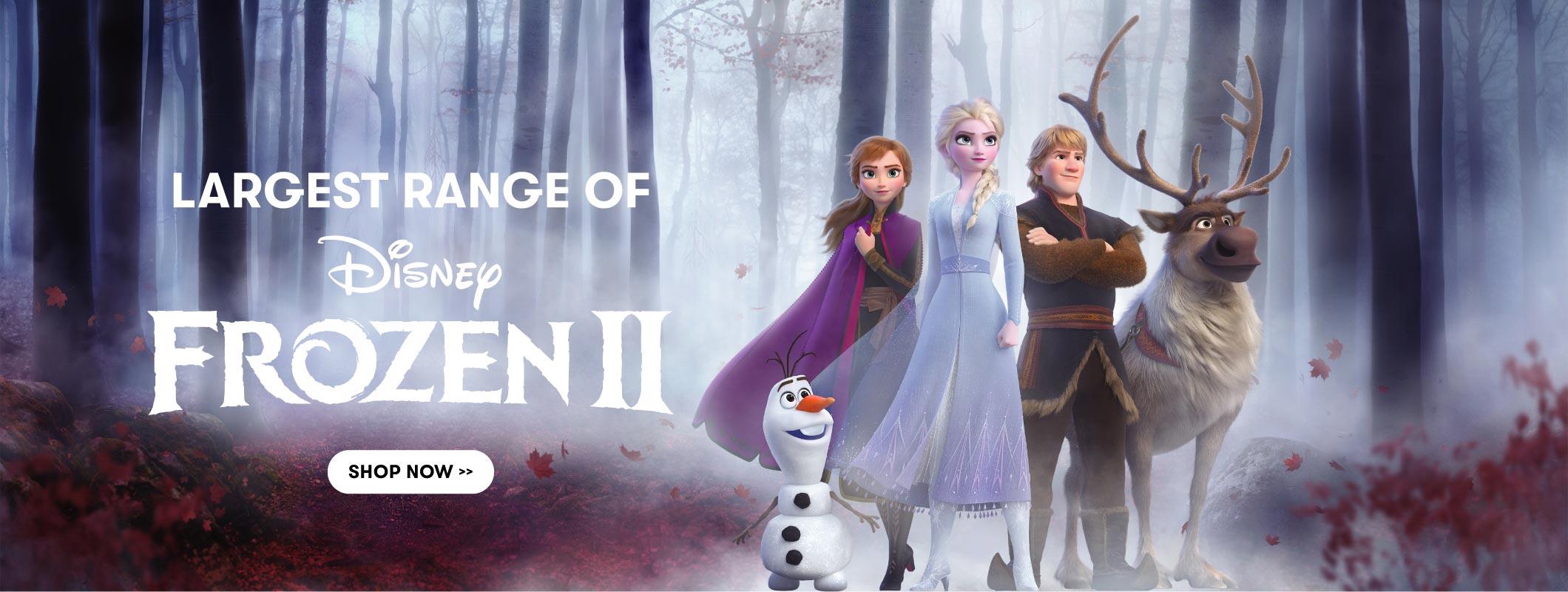Huge range of Frozen