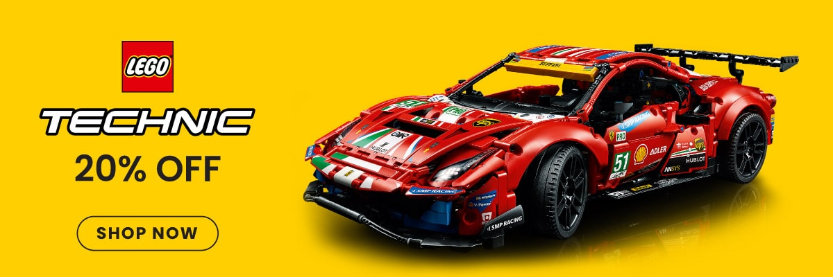 20% Off LEGO Technic