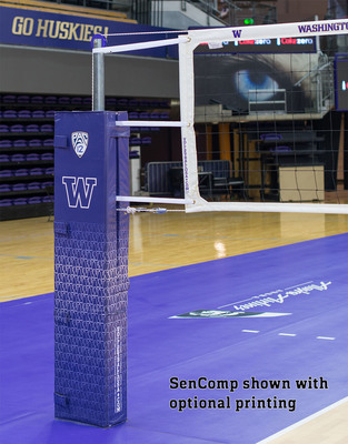 SenComp Volleyball Net on Telescoping Poles