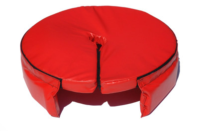 Base Pad with Skirt - Back