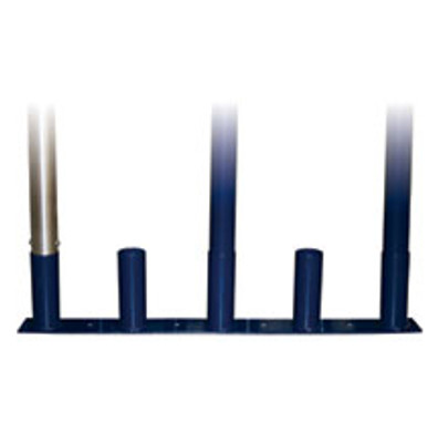 Upright Volleyball Pole Storage Stand