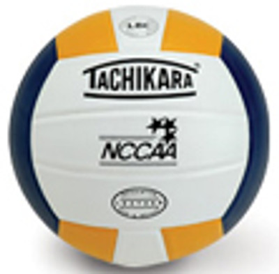 Tachikara NCCAA Gold/White/Navy Premium Leather