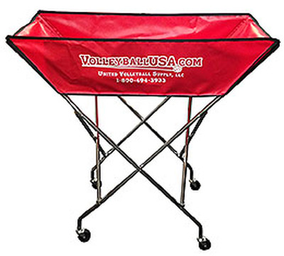 Volleyball USA Hammock Style Ball Cart