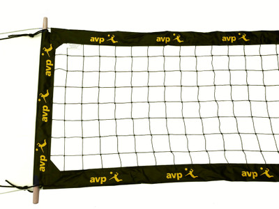 "AVP-PBN4: 4"" Professional AVP Volleyball Net"