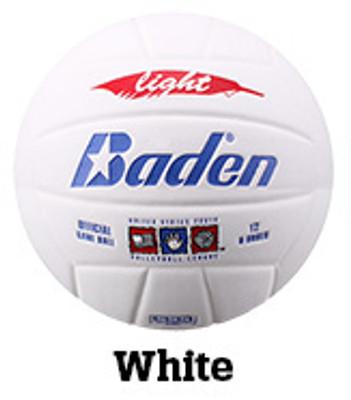 Baden Light VX450L Volleyball - White