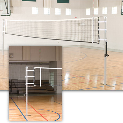 VX10 International Telescoping Volleyball Pole - Indoor Volleyball Pole