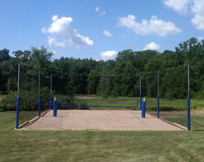20' Volleyball Court Enclosure