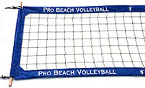 PBN4-PRO BEACH NET WITH LOGOS