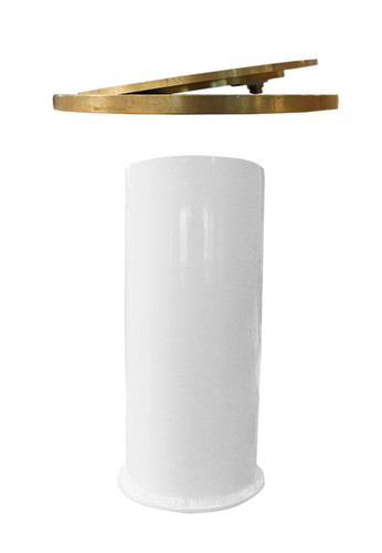 """VB 3.5"""" and 3"""" Floating Floor Socket with High Strength Brass Floor Plate"""