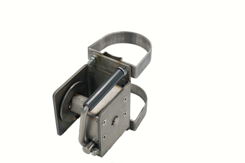 """Indoor 3"""" and 3.5"""" Worm Gear Winch Clamp-on"""