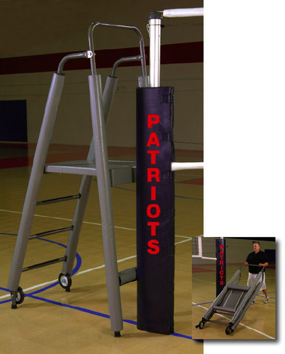 Free Standing Official Referee Stand with Tubular Padding