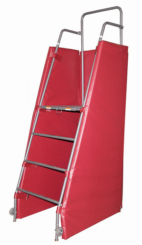 Free Standing Official Referee Stand with Wrap-Around Pad