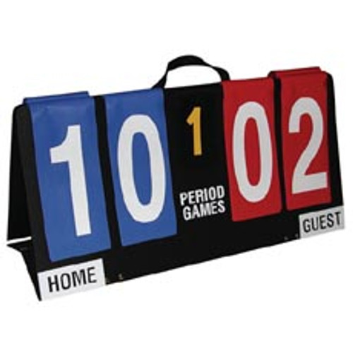 Single-Sided Individual Flap Portable Score Board