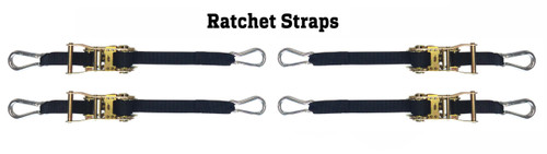 4 Corner Ratchet Strap Volleyball Net Tension Kit