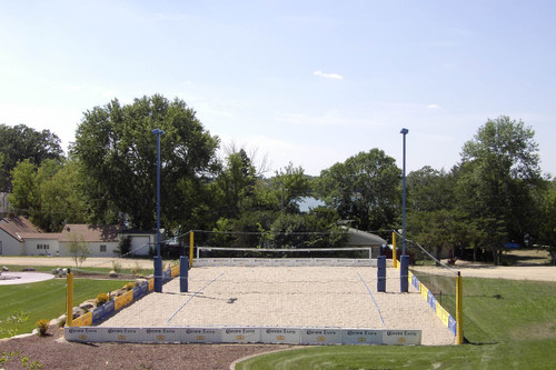 9' Volleyball Court Enclosure