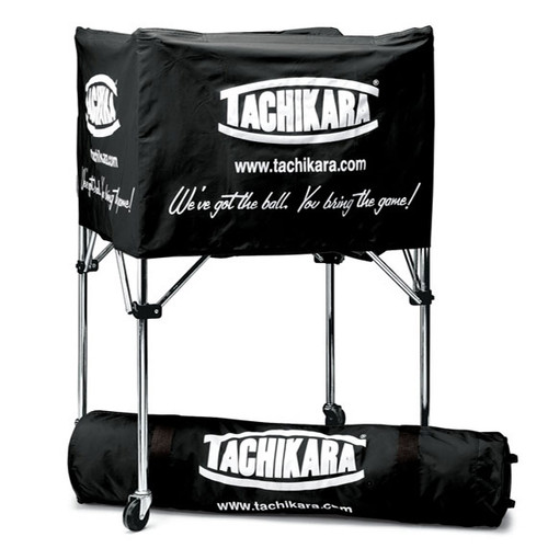 Tachikara Deep Basket Style Ball Cart - Black
