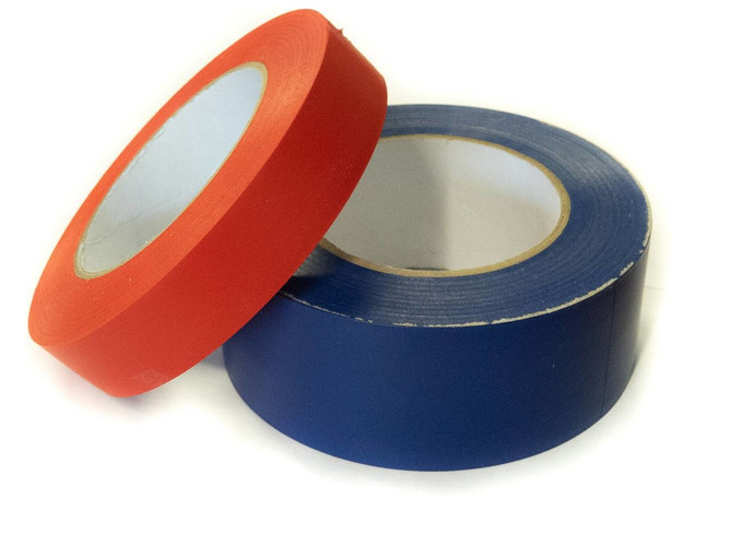 gym floor tape used for marking floors with boundary lines