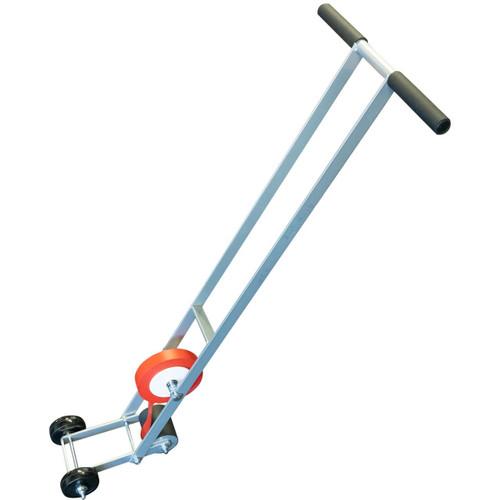 floor marking tape applicator for marking gym floors