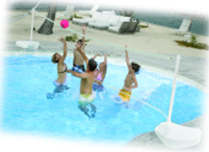 Water Volleyball Portable System