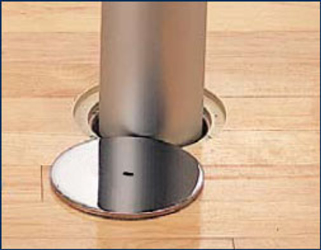 "5-Inch-SP: 3.5"" and 3"" Sockets with a 5"" O.D. Swivel Plate"