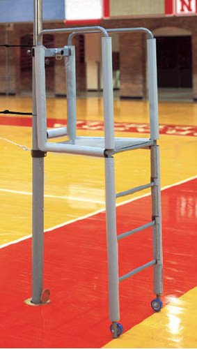 Steel Clamp-On Referee Stand with Tubular Padding