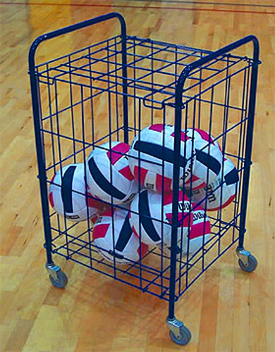 Small Wire Style Lockable Ball Cart