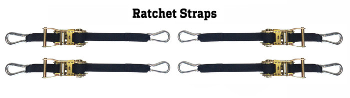 4 Corner Ratchet Strap Volleyball Net Tension Kit