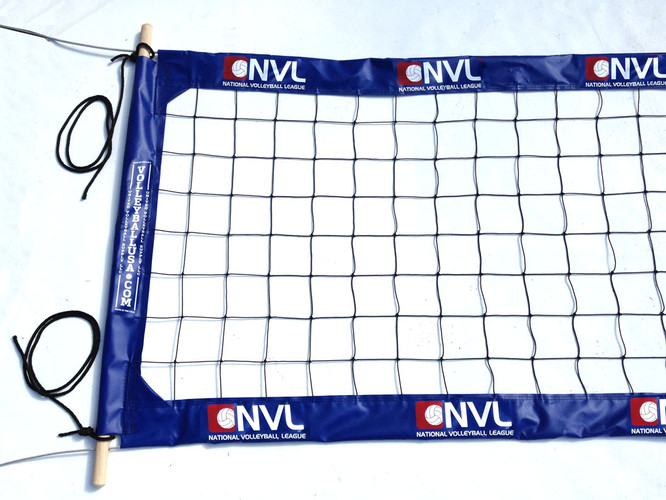 "NVL-PBN4: 4"" Professional Pro Beach Power Net - Blue"