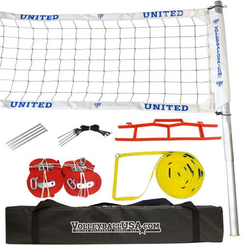 United Volleyball Net Slip System WEBBING