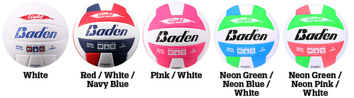 Baden Light VX450L Volleyball Color Options