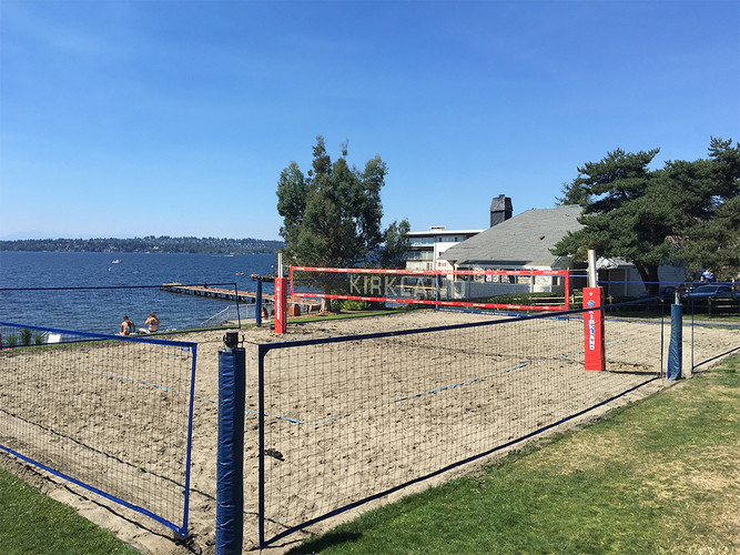 6' Volleyball Court Enclosure