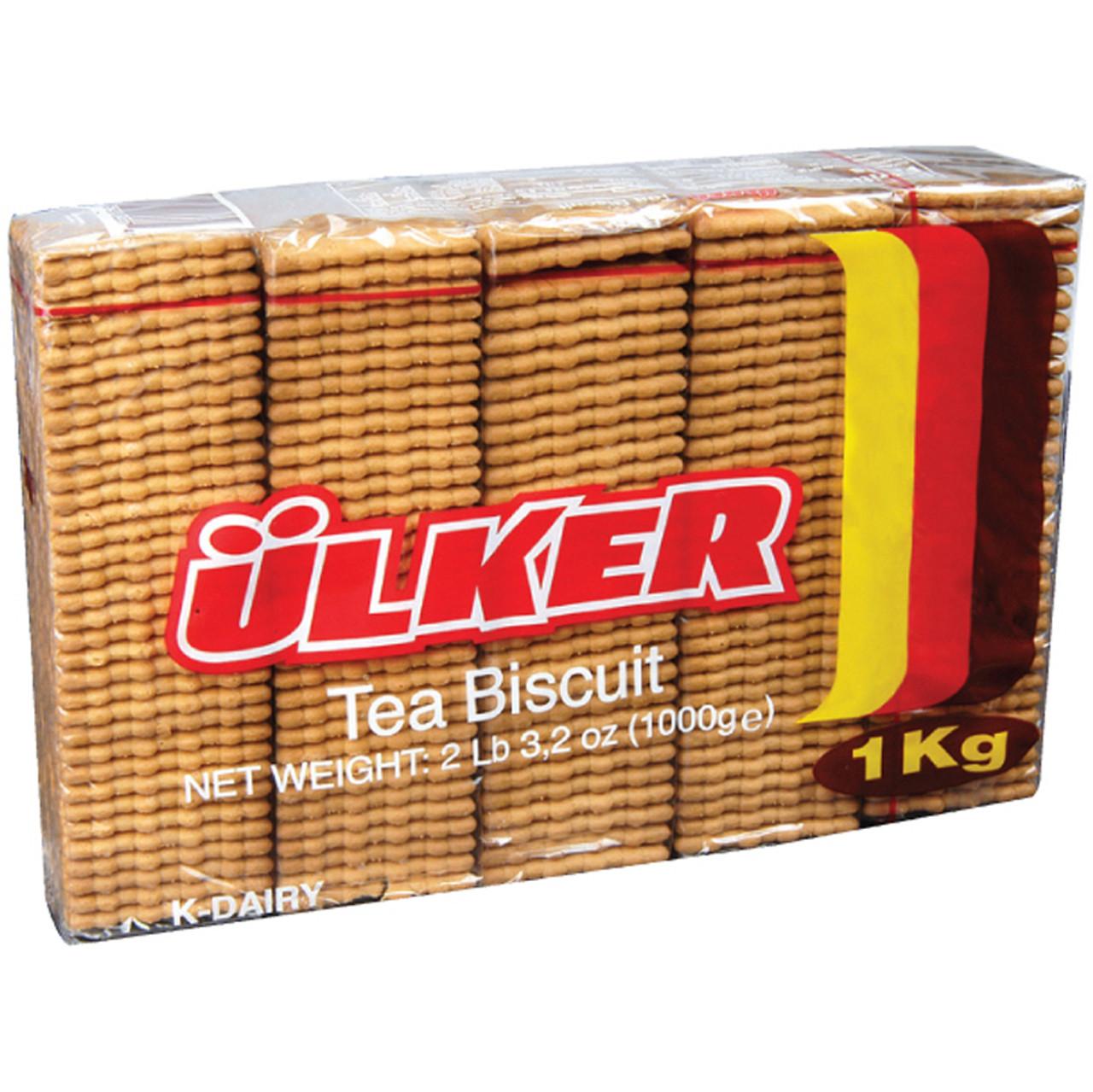 ULKER Tea Biscuits (5 Pack) 1kg