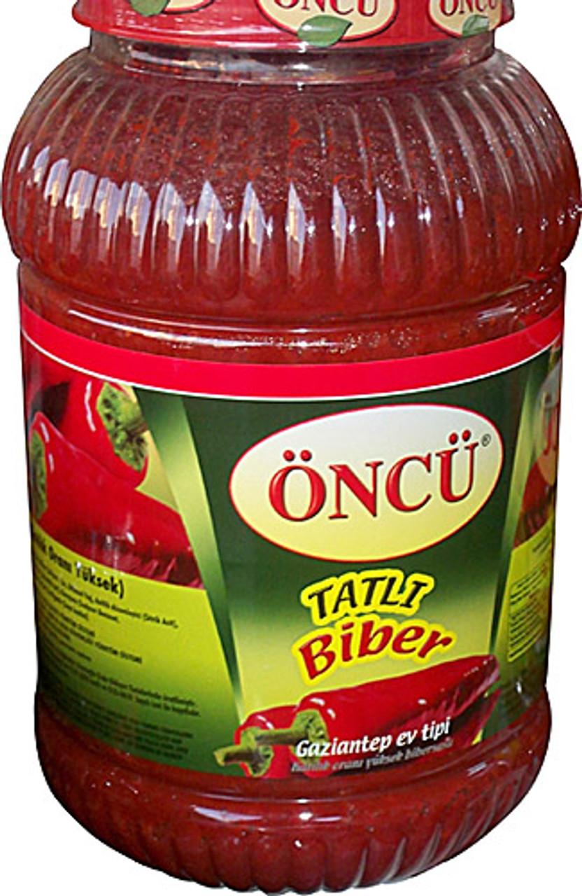 ONCU MILD Pepper Paste (TATLI Biber Salçası - 4300gr)