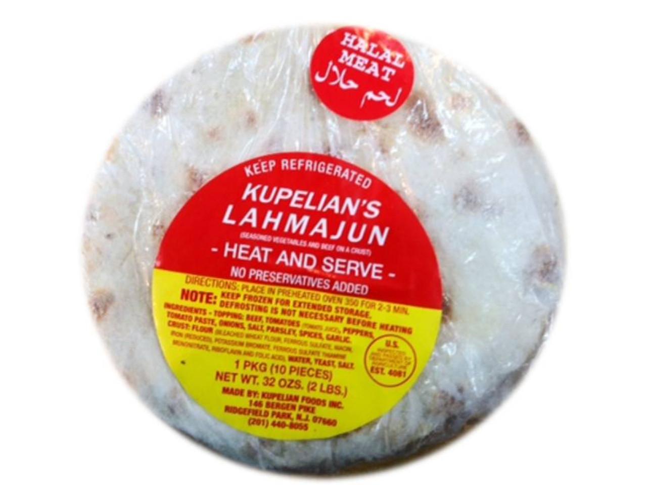Halal MILD Lahmacun – 40oz (Kupelian Lahmacun – 1.1kg)