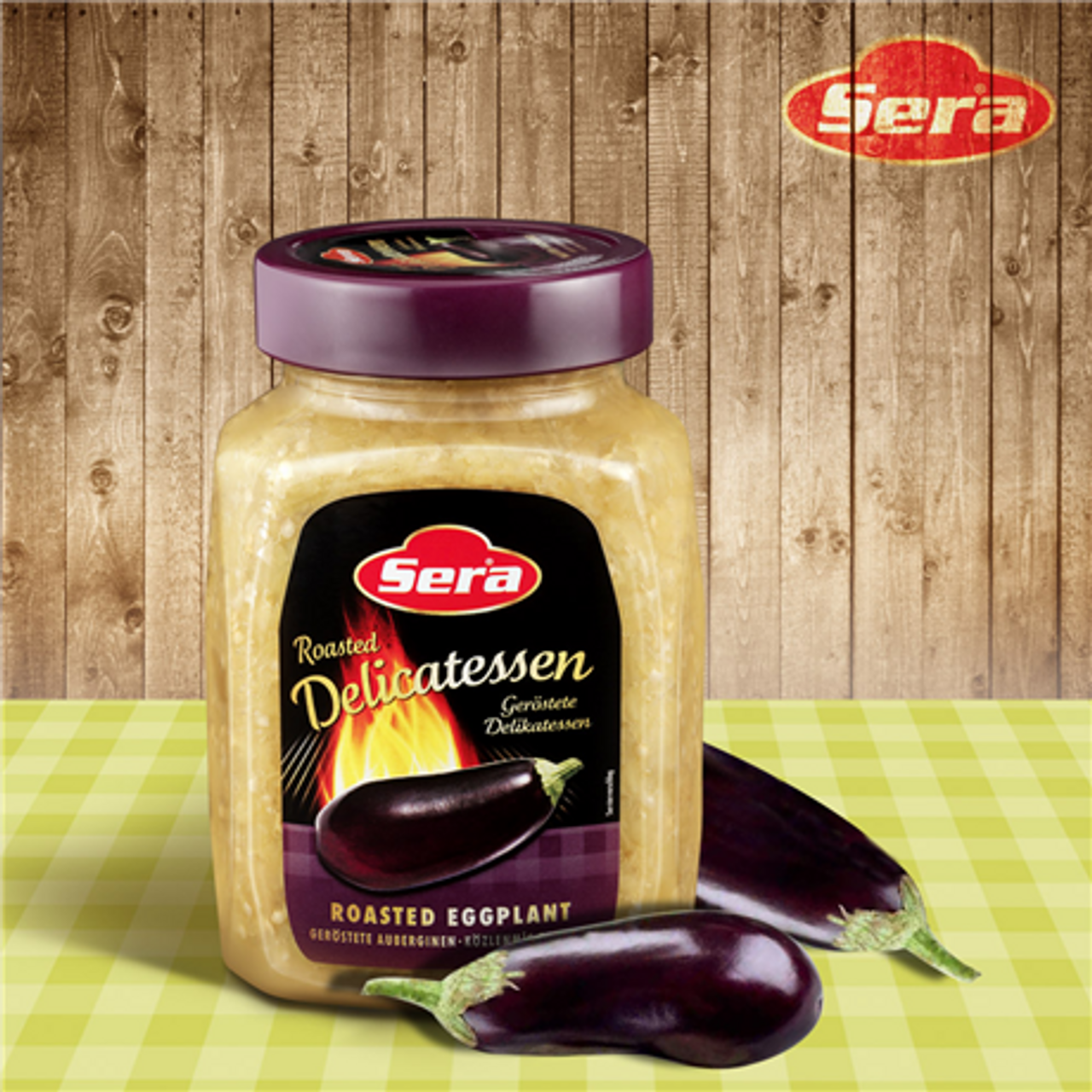 SERA Roasted Eggplant (Kozlenmis Patlican) 720g